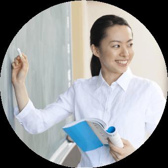 女性日本語教師